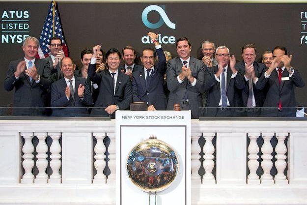Le 22 juin, la filiale américaine d'Altice fait son entrée à Wall Street.