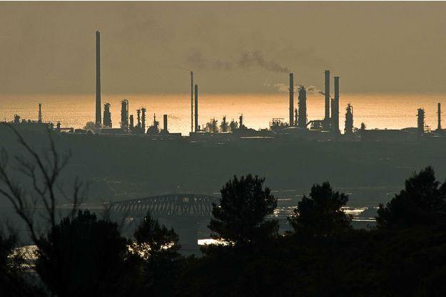 Une usine près de Marseille. (image d'illustration)