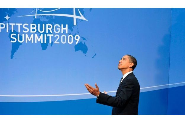 Barack Obama à l'ouverture du G20 de Pittsburgh