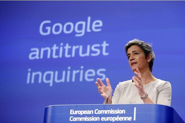 Margrethe Vestager, commissaire européenne chargée de la Concurrence, mercredi.