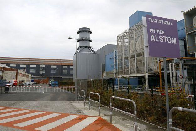 L'usine Alstom, à Belfort.