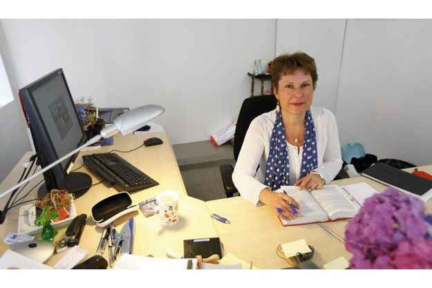 Elisabeth Pelsez, directrice de l'Agrasc.