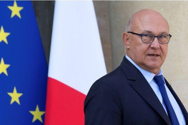 Le ministre de l'Economie, Michel Sapin
