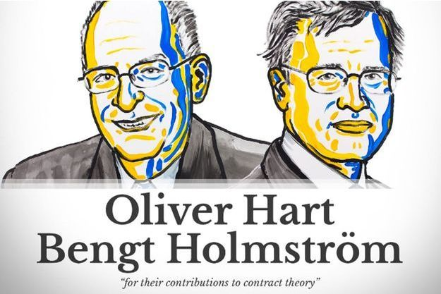Oliver Hart et Bengt Holmström ont reçu le prix Nobel d'économie.