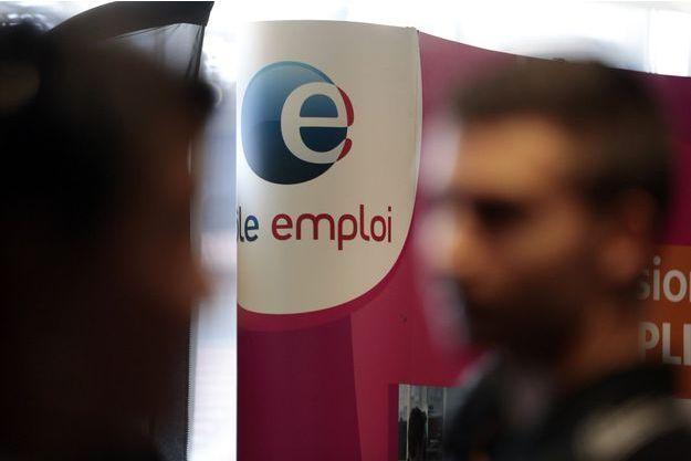 Dans une agence Pôle Emploi, à Nice.