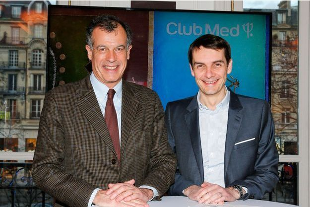 Henri Giscard d'Estaing et Sylvain Rabuel.