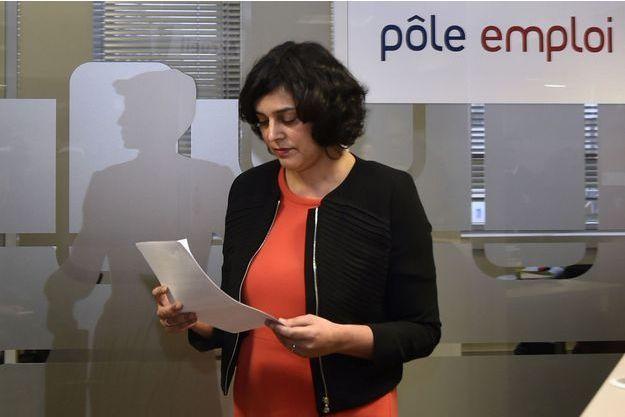 Myriam El Khomri, à Saint-Ouen le 24 février 2016