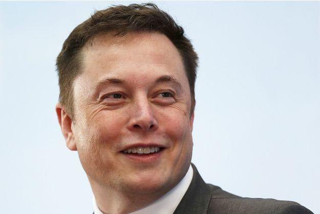 Elon Musk en janvier dernier à Hong-Kong.
