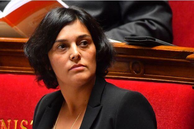 La ministre du Travail, Myriam El Khomri, le 1er décembre à l'Assemblée nationale.