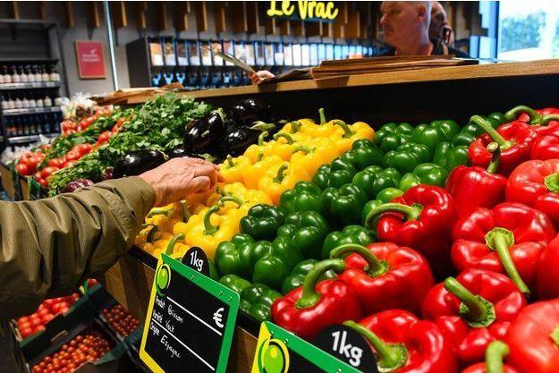 Dans un supermarché à Marquette-lez-Lille, dans le Nord, en novembre dernier.