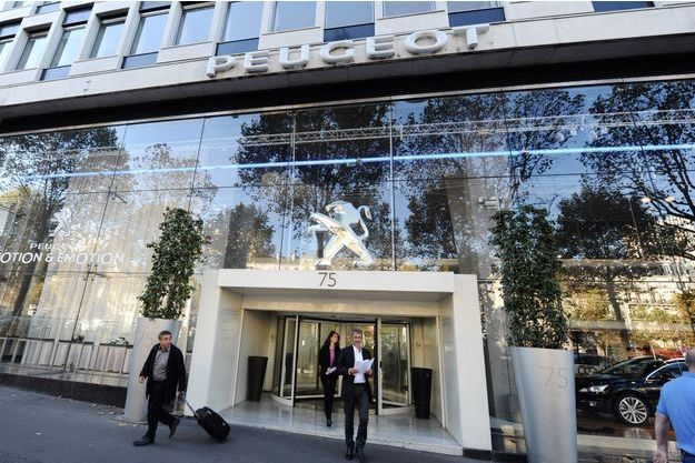 Ici, l''ancien siège de PSA à Paris. L'entreprise s'installe courant septembre dans les Hauts de Seine.