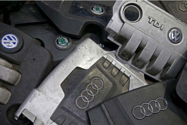 Des carters de moteurs diesel de Volkswagen.