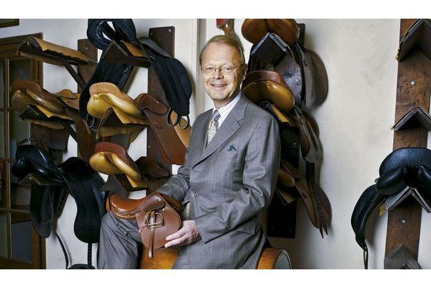 Patrick Thomas, l'actuel patron de la maison Hermès.