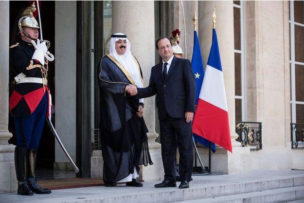 Juin 2014. François Hollande rencontre le prince d'Arabie Saoudite.