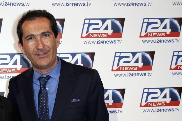 Patrick Drahi, l'homme d'affaires fondateur de Numericable, le 12 mars.