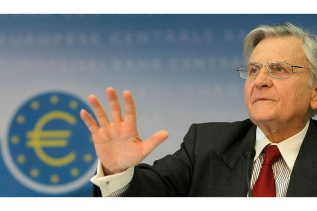 Jean-Claude Trichet, président de la Banque centrale européenne.
