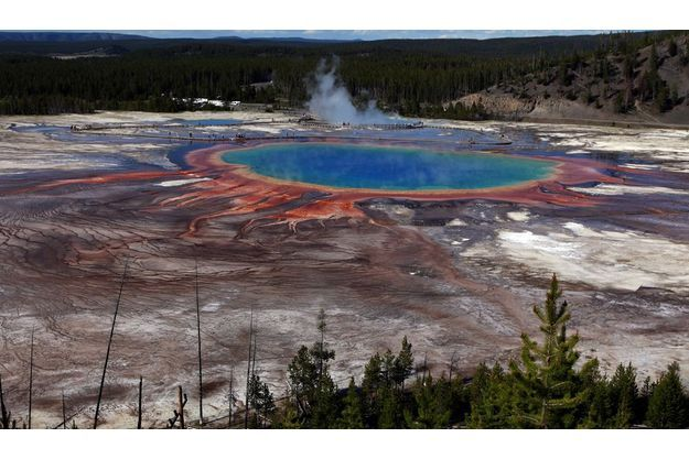 Le cratère Yellowstone menace la planète.