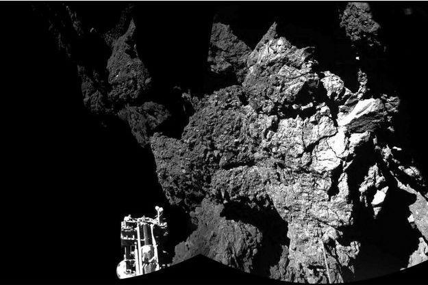 Le robot Philae est en hibernation.