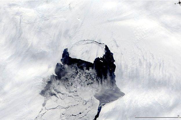 Photo de Pine Island prise par la NASA.