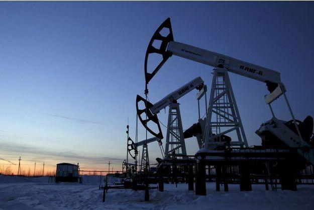 Un puits de pétrole en Sibérie.