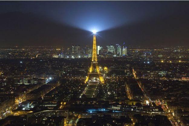 Illustration de la ville de Paris.