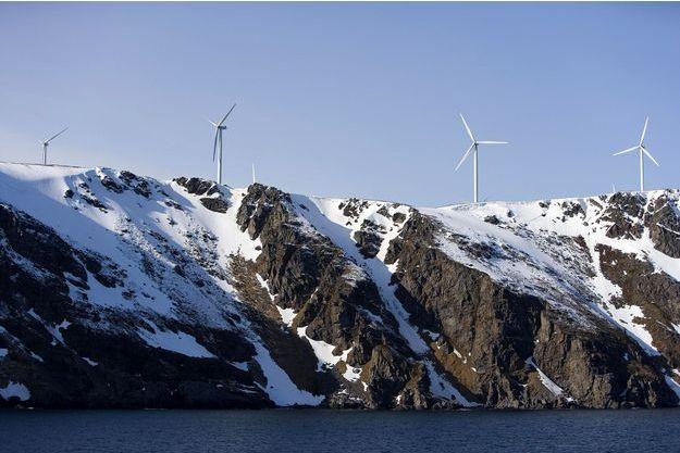 Six fermes d'éoliennes devraient voir le jour devrait voir le jour près de Trondheim en 2020.