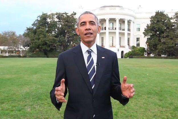 Capture d'écran de la vidéo de Barack Obama.