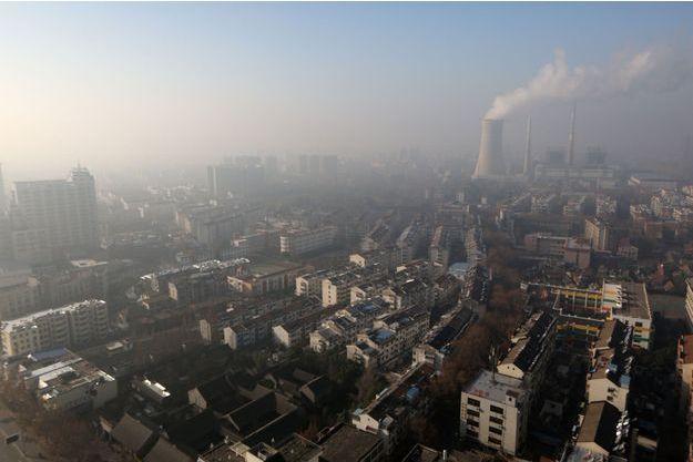 Huaian, en décembre 2016 en Chine