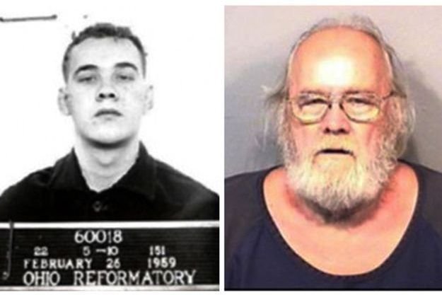 Frank Freshwater a été arrêté après 56 ans de cavale.