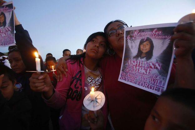 La communauté navajo pleure la mort de la petite fille, en mai 2016.