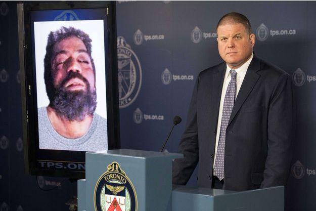 Hank Idsinga, responsable de l'enquête à la police de Toronto.