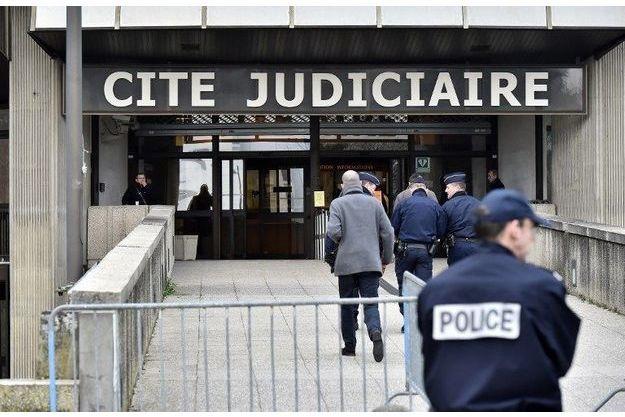 Palais de justice de Rennes.