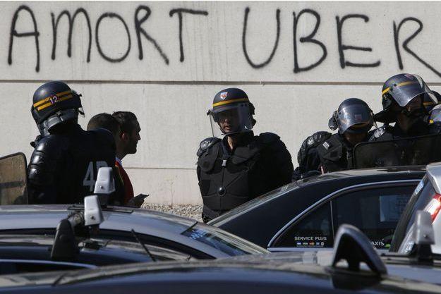 Deux chauffeurs de taxi ont été placé en garde à vue