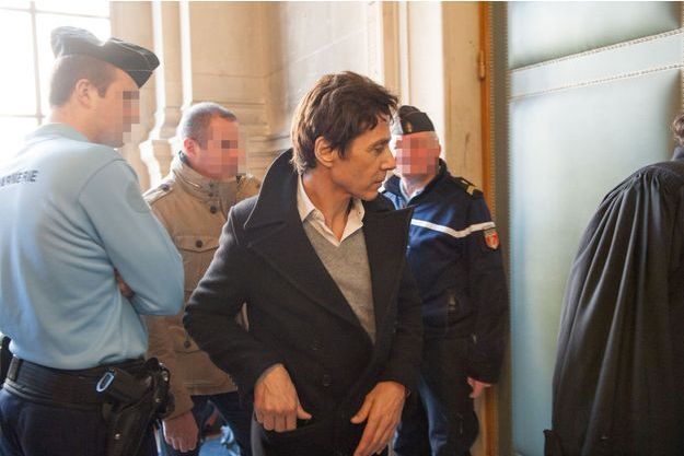 Jean-Luc Lahaye au tribunal correctionnel de Paris, le 23 mars dernier.