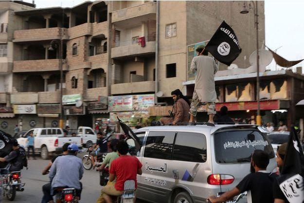Des sympathisants de l'Etat islamique en Irak.