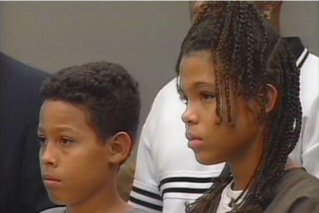 Curtis et Catherine Jones à leur procès en 1999.