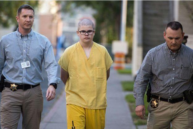 Caleb Sharpe a été arrêté la semaine dernière.