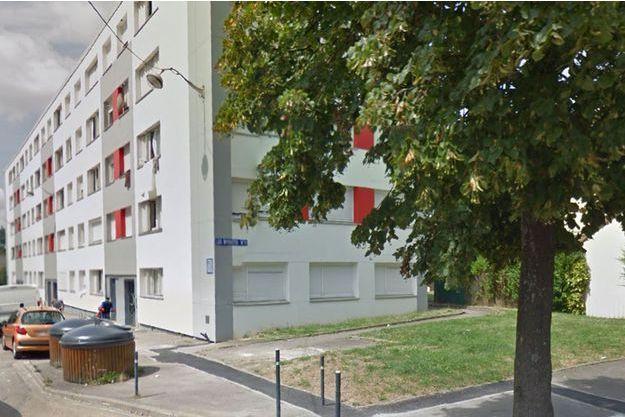 Le drame a eu lieu dans cet immeuble de Nancy.