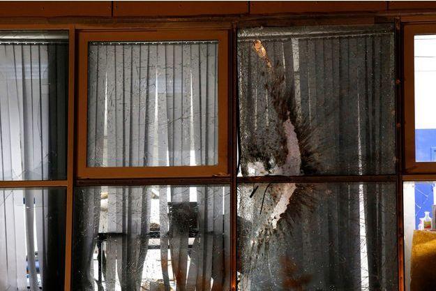Les dégâts causés par les tirs ne sont heureusement que matériels.