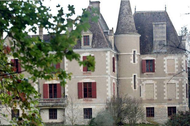 Le château de Monflanquin.