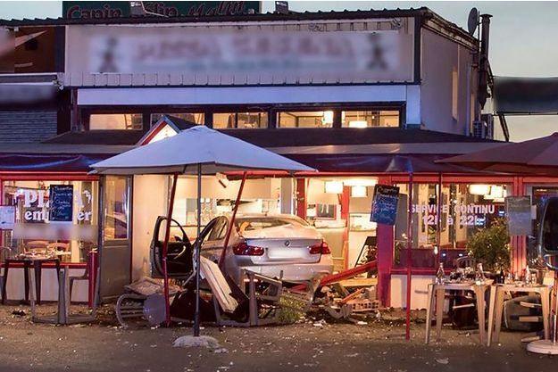 L'homme a foncé lundi sur une pizzeria en Seine-et-Marne, tuant une adolescente et faisant 12 blessés.