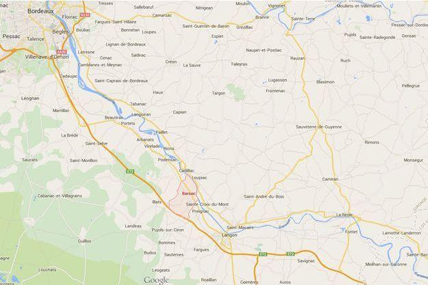 Une fillette de neuf ans retrouvée sans vie au bord d'une route de Barsac, en Gironde.