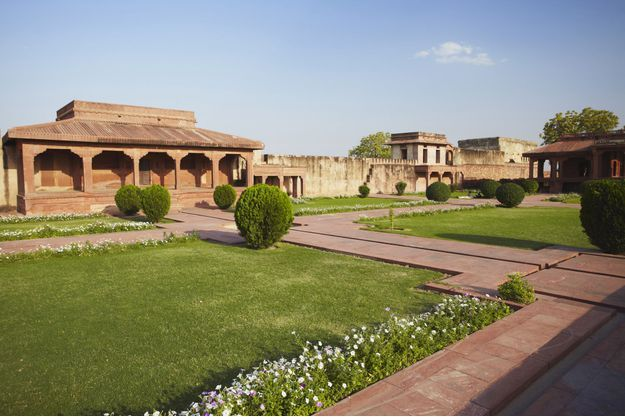 Diwam-i-Am à Fatehpur Sikri, en Inde (image d'illustration).