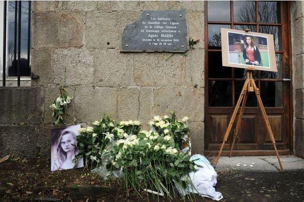 Agnès a été tuée en 2011