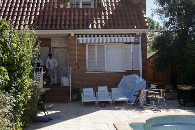 Les cadavres ont été retrouvés dans cette résidence de Pioz, en Espagne.