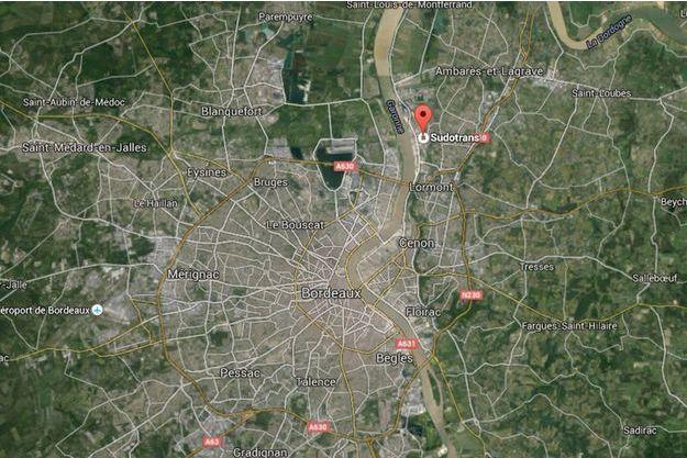 L'incendie a eu lieu dans une société spécialisée dans le transport de matières dangereuses à Bassens, au nord de Bordeaux.