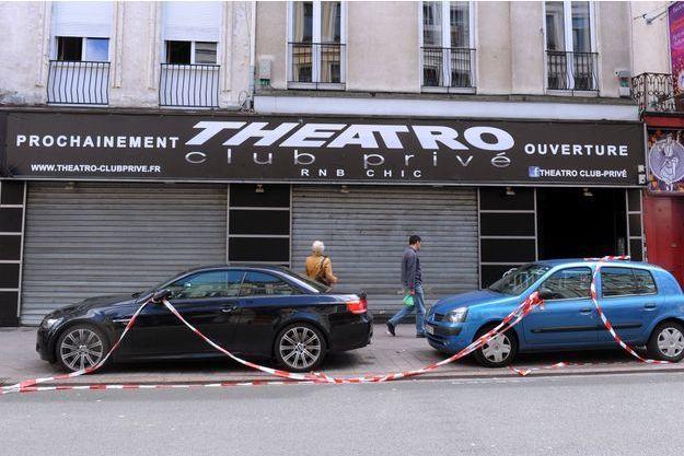 La façade du Theatro, à Lille.