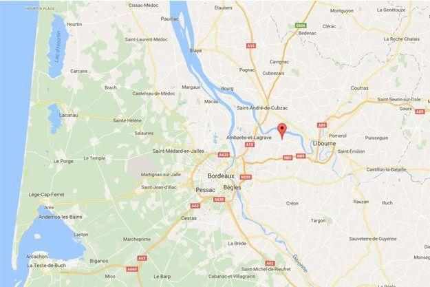 Le drame a eu lieu à Izon, non loin de Libourne, en Gironde.