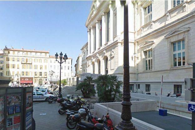Le palais de justice de Nice, où est jugé l'accusé.