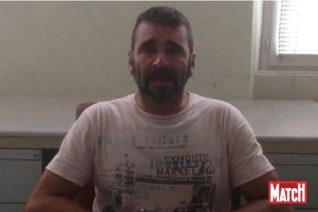 Francisco Benitez sur la vidéo qu'il a confiée à notre journaliste.